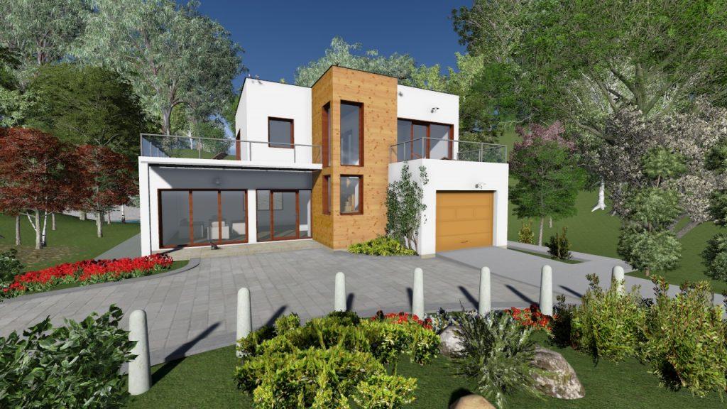 Accueil la maison ossature bois for Construire une maison intelligente